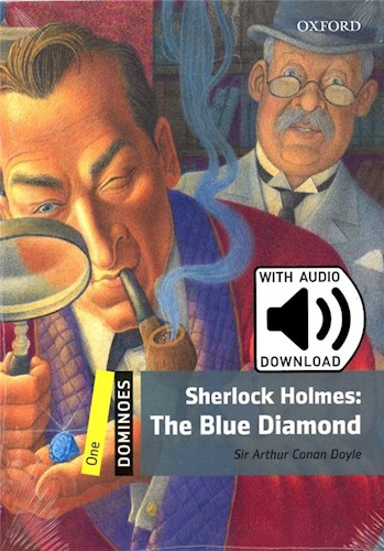 BLUE DIAMOND,THE: SHERLOCK HOLMES - Dominoes 1 with MP3 *2Ed